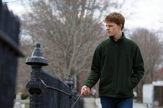 Manchester by the Sea Lucas Hedges foto dal film 1