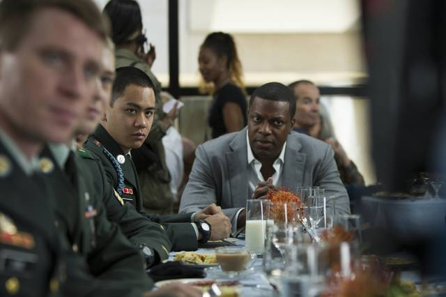 Billy Lynn - Un giorno da eroe Chris Tucker foto dal film 1
