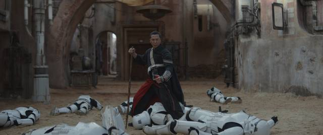 Rogue One - A Star Wars Story Donnie Yen foto dal film 1