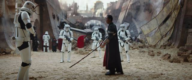 Rogue One - A Star Wars Story Donnie Yen foto dal film 3