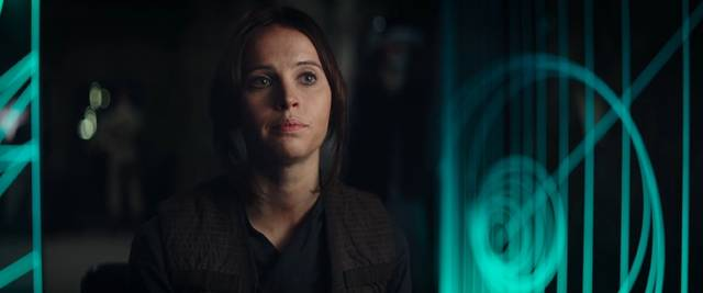 Rogue One - A Star Wars Story Felicity Jones foto dal film 2