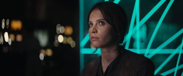 Rogue One - A Star Wars Story Felicity Jones foto dal film 3