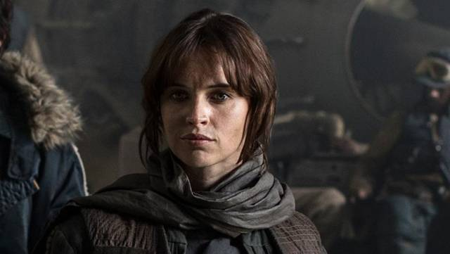 Rogue One - A Star Wars Story Felicity Jones foto dal film 5