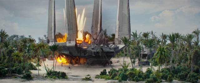 Rogue One - A Star Wars Story foto dal film 2