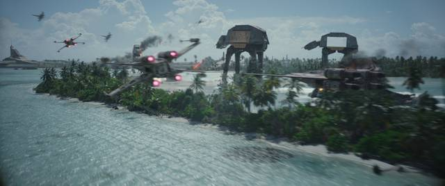 Rogue One - A Star Wars Story foto dal film 7