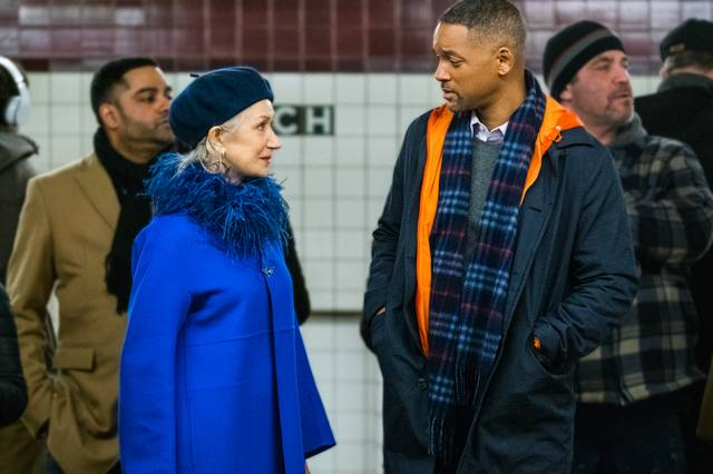 Collateral Beauty Helen Mirren Will Christopher Smith foto dal film 2