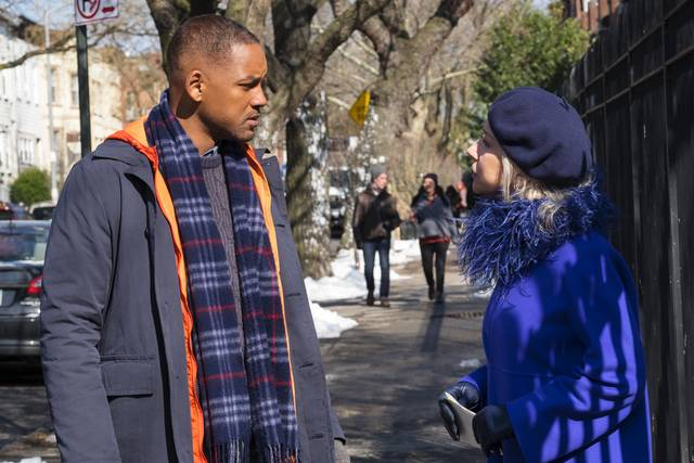 Collateral Beauty Helen Mirren Will Christopher Smith foto dal film 3