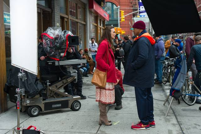 Collateral Beauty Keira Knightley Will Christopher Smith foto dal set 1