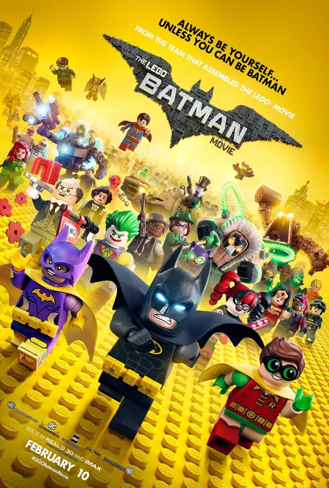 LEGO Batman iI Film Teaser Poster USA