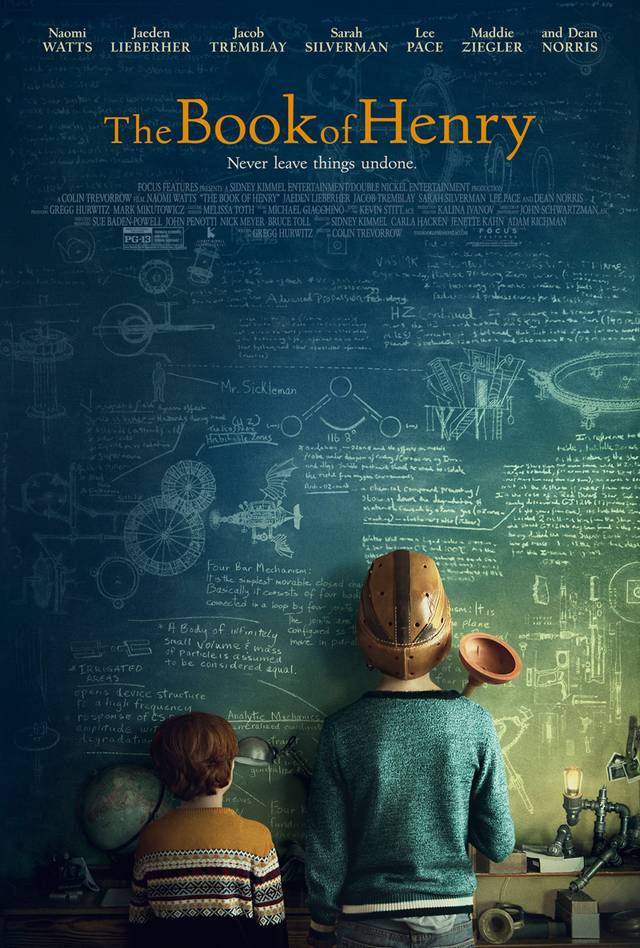 Il primo poster di The Book of Henry