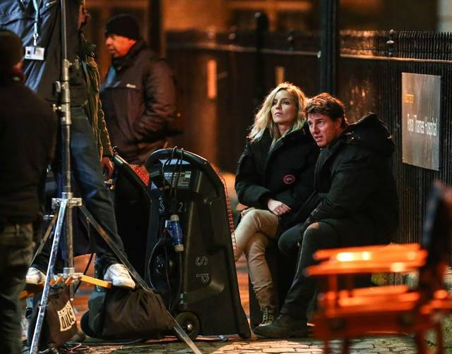 La Mummia Tom Cruise Annabelle Wallis foto dal set 1