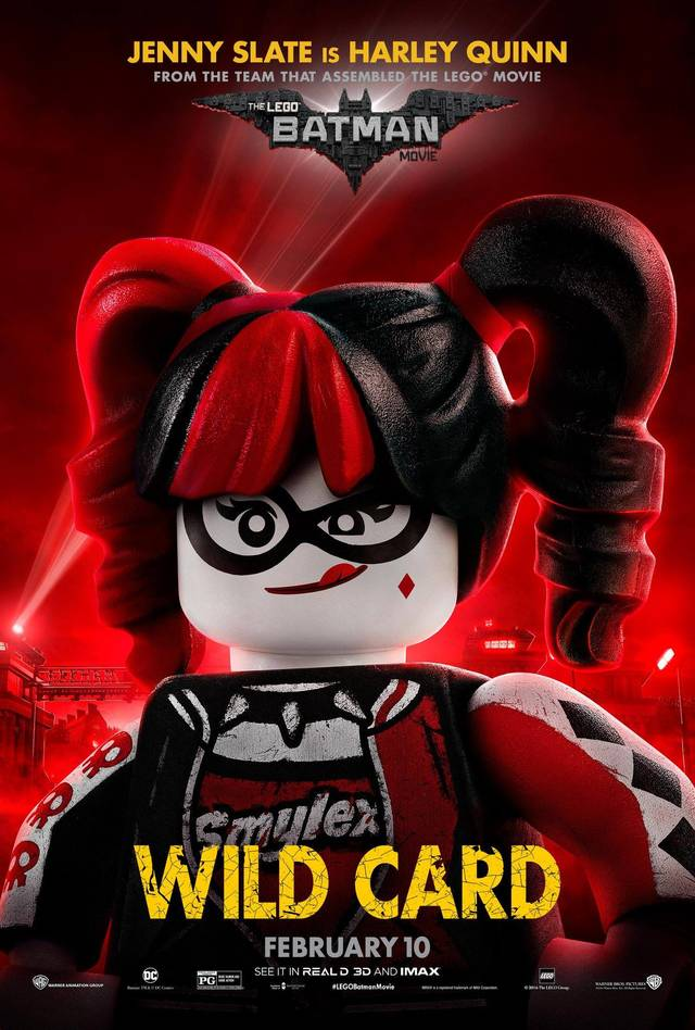 Il character poster di Harley Quinn