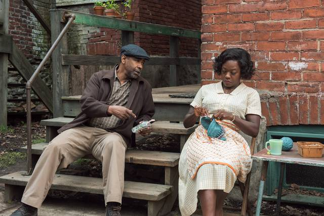 Barriere Denzel Washington Viola Davis foto dal film 1
