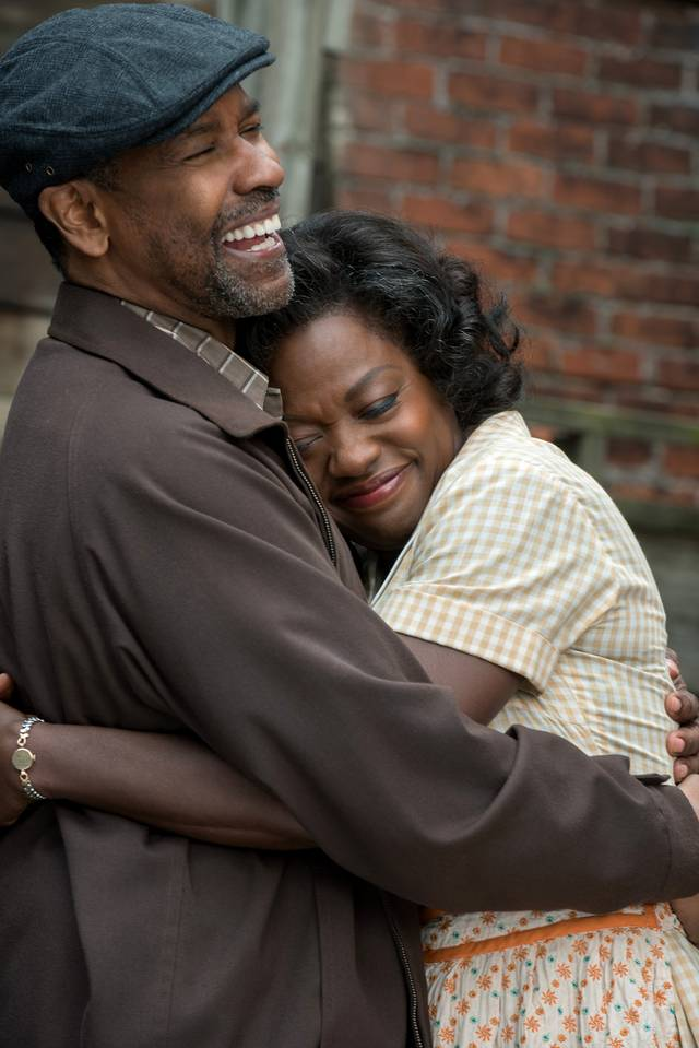 Barriere Denzel Washington Viola Davis foto dal film 2