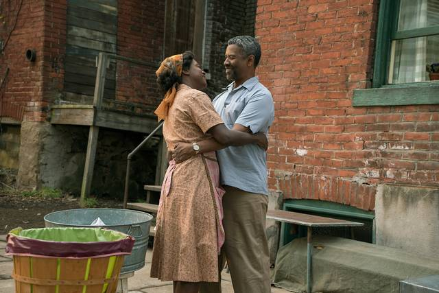 Barriere Denzel Washington Viola Davis foto dal film 4