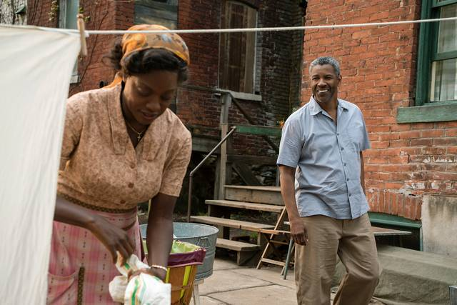 Barriere Denzel Washington Viola Davis foto dal film 5