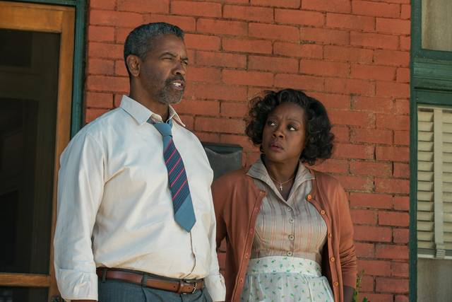 Barriere Denzel Washington Viola Davis foto dal film 6