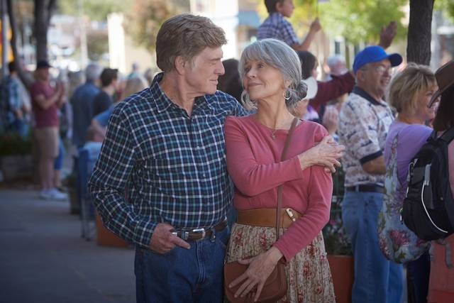 Robert Redford e Jane Fonda in Our Souls at Night