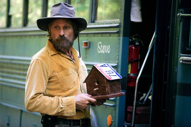 Captain Fantastic Viggo Mortensen foto dal film 1