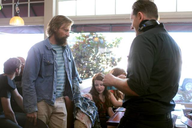 Captain Fantastic Viggo Mortensen foto dal set