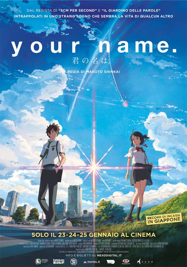 Your Name Poster Italia