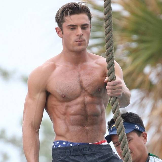 Baywatch Zac Efron foto dal set 1