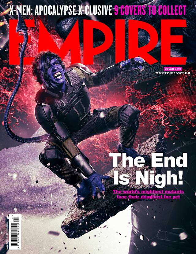 X-Men Apocalisse Kodi Smit-McPhee Cover Empire
