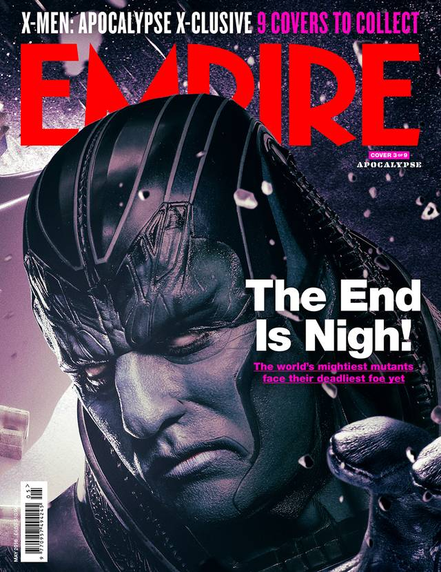 X-Men Apocalisse Oscar Isaac Cover Empire