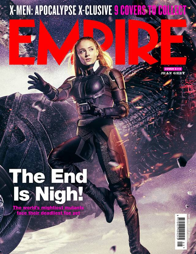 X-Men Apocalisse Sophie Turner Cover Empire