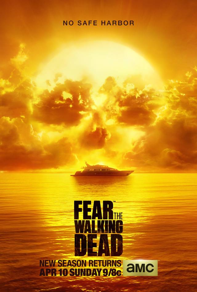 Fear the walking dead stagione 2 poster mid