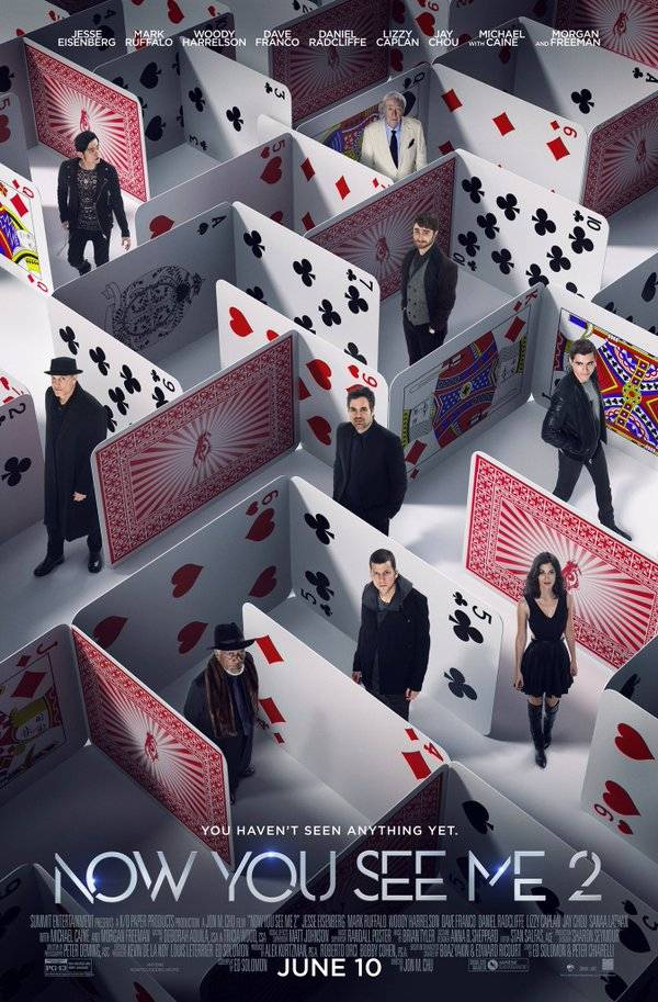 Il poster di Now You See Me 2