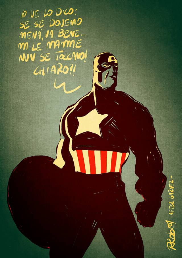 CAPTAIN AMERICA CIVIL WAR RECCHIONI