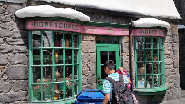 The Wizarding World of Harry Potter Hollywood La Visita di ScreenWeek - 24