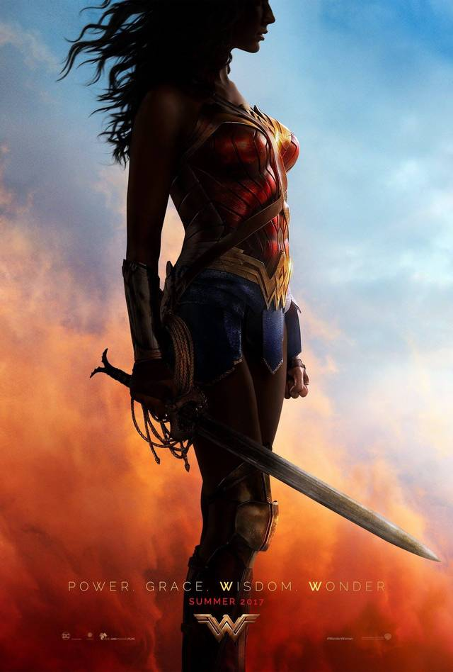 Il poster di Wonder Woman