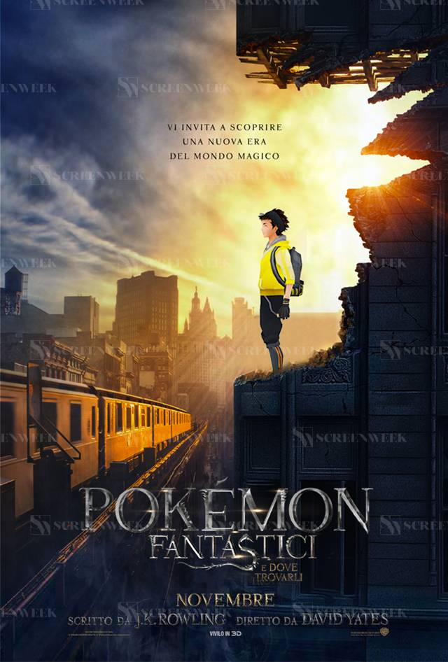 Animali Fantastici e dove trovarli - Il PokePoster di ScreenWeek