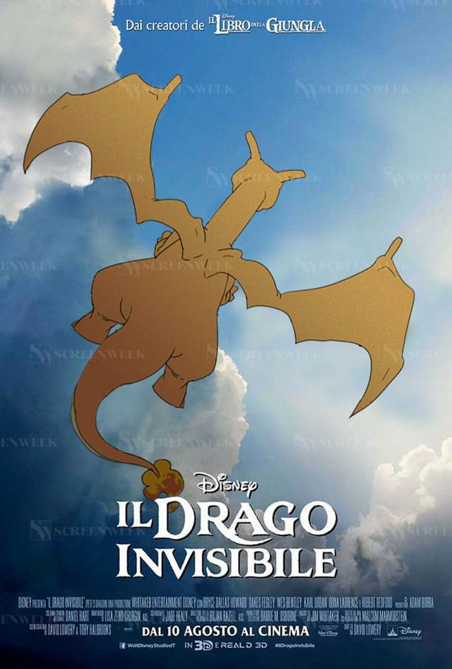 Il Drago Invisibile - Il PokePoster di ScreenWeek