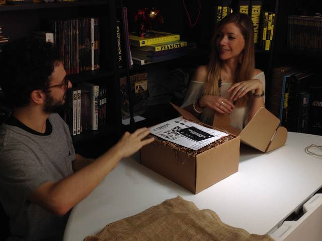 I Magnifici 7 - Unboxing pacco misterioso a ScreenWeek