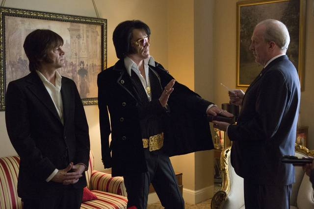 Elvis & Nixon Johnny Knoxville Tracy Letts Michael Shannon foto dal film 2