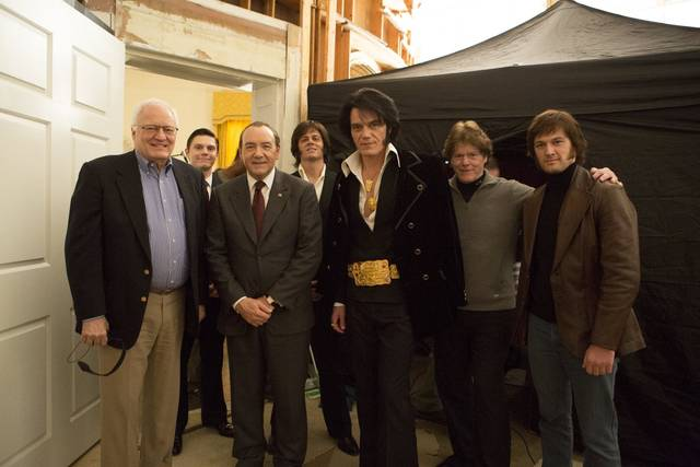 Elvis & Nixon Kevin Spacey Johnny Knoxville Jerry Schilling Michael Shannon Evan Peters Alex Pettyfer foto dal film 1