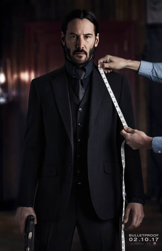 Il teaser poster di John Wick: Chapter 2