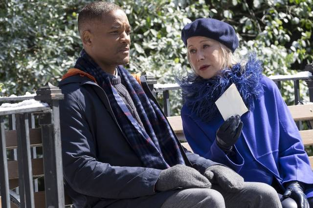 Collateral Beauty Will Smith Helen Mirren foto dal film 1