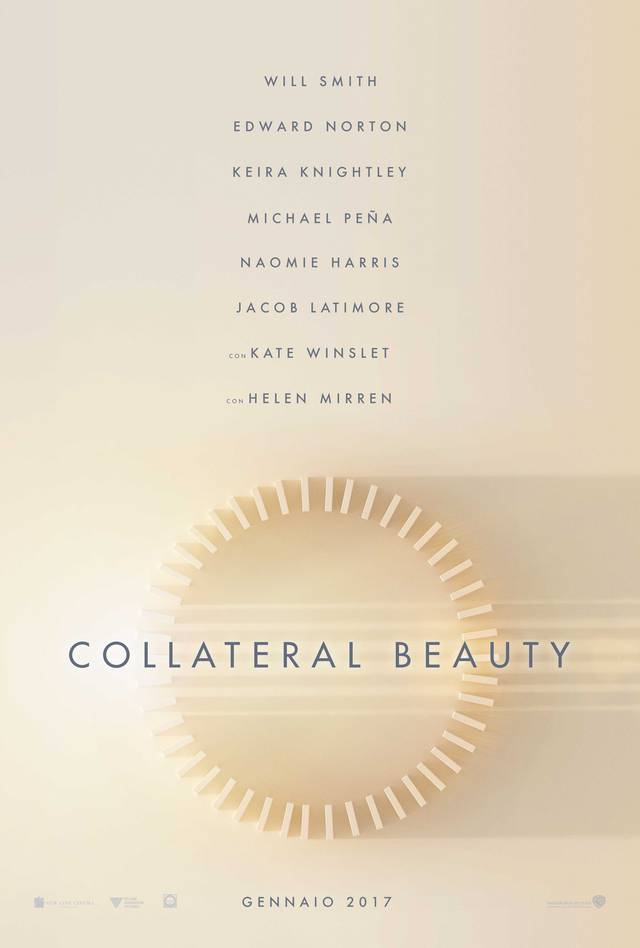 Collateral Beauty Teaser Poster Italia