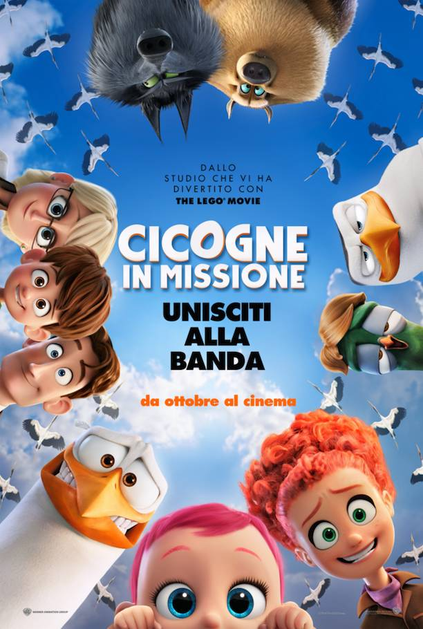 Cicogne in missione Teaser Poster Italia