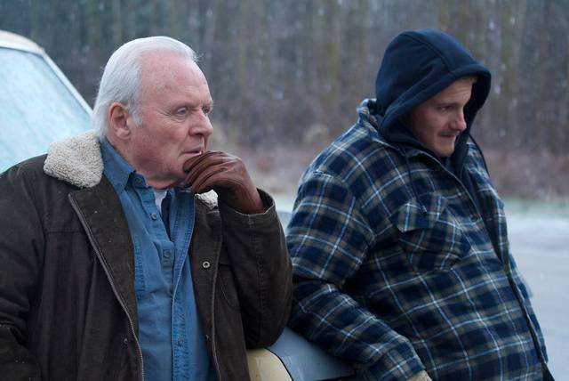 Go with me Anthony Hopkins Alexander Ludwig foto dal film 3