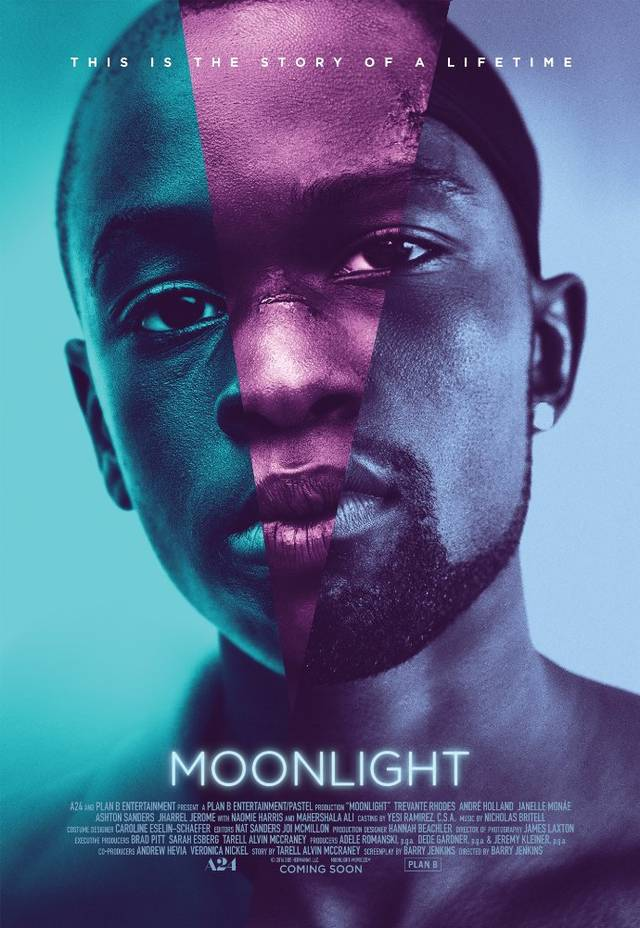 Moonlight Teaser Poster Internazionale