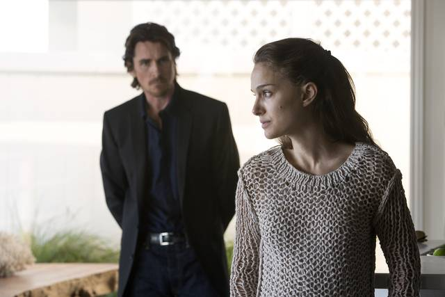 Knight of Cups Christian Bale Natalie Portman foto dal film 1