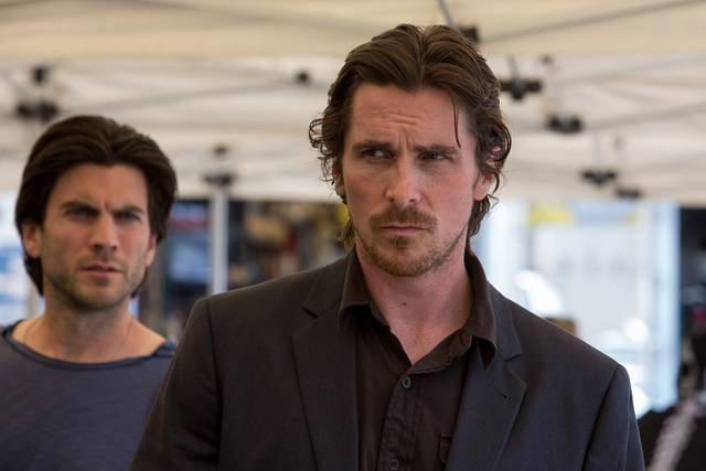 Knight of Cups Christian Bale Wes Bentley foto dal film 4