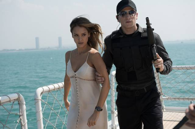 Mechanic Resurrection Jessica Alba foto dal film