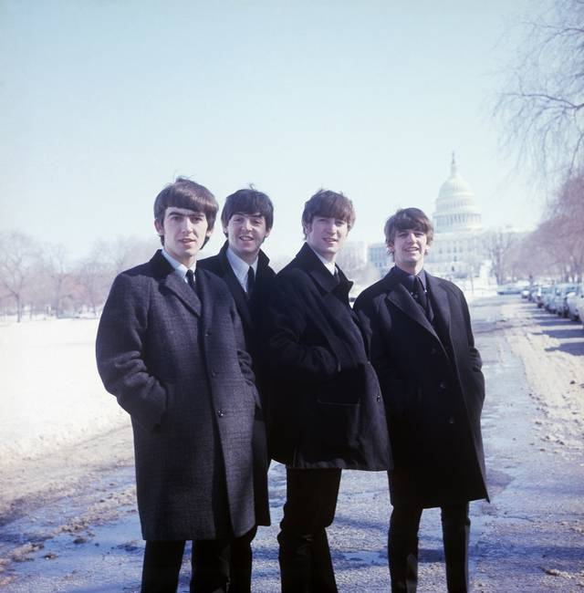 The Beatles - Eight Days a Week - The Touring Years John Lennon Paul McCartney Ringo Starr George Harrison foto