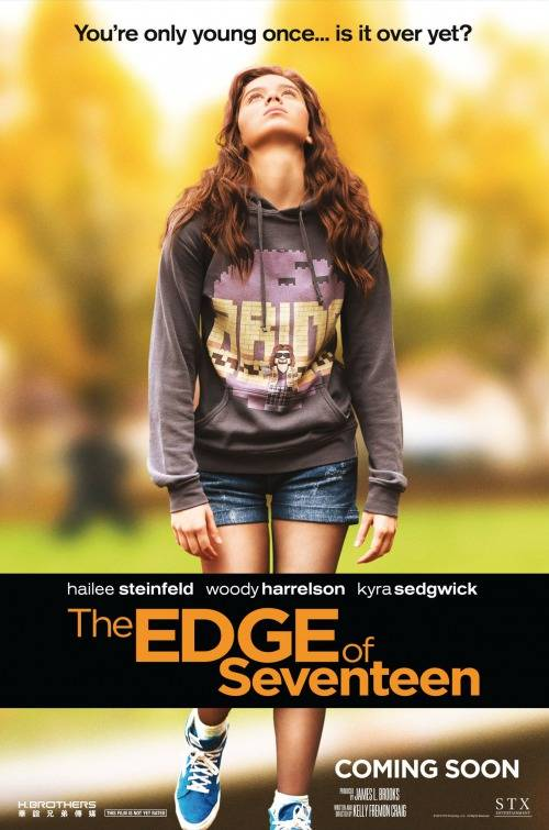 Edge of Seventeen Teaser Poster USA